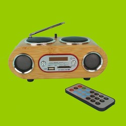 LEAFer Portable Multimedia Player (MP3) with Radio