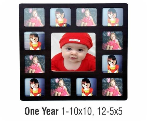 Baby's First Year Collage Frame, Kids Collage Frame - Woodpecker ...