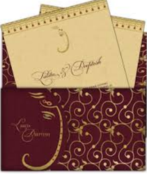 Sikh Wedding Invitations Cards
