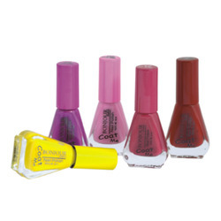 Bonjour Paris Color Cap Nail Polish