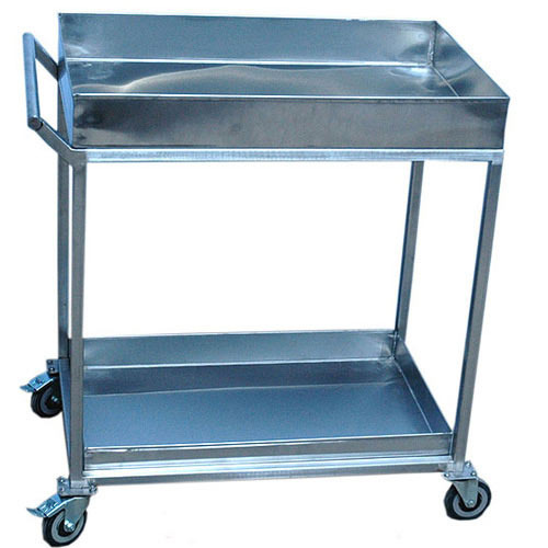 Stainless Steel Utility Trolley, Loading Capacity:0-50 kg
