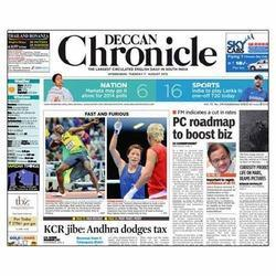 Deccan Chronicle Newspaper Advertising Service