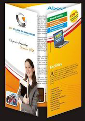 Gate Fold Brochure Design Services