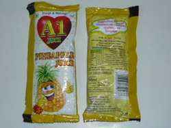 Pineapple Juice 50 Ml Pouch