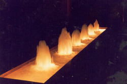 Multiple Geyser Jet Fountains