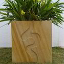 Hand Carved Sand Stone Planter