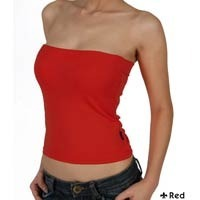 Red Long Tube Top
