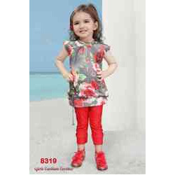 6dbbf848e3837 Girls Leggings Set, Girls Party Wear Legging Sets | Dadar West ...