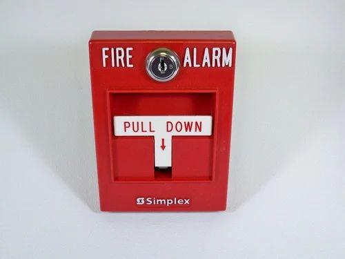 manual pull down fire alarm system piconet innovative solutions rh indiamart com Notifier Fire Alarm Panel Troubleshooting Notifier Fire Alarm Panels