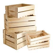 Moisture Proof Rectangle Small Slatted Wooden Packaging Boxes, for Shipping