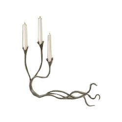 Three Arm Candelabra