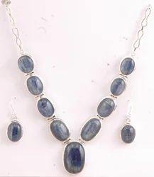 Black Oynx Silver Necklace