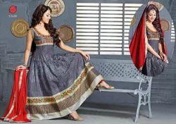 Trendy Cotton Punjabi Dress