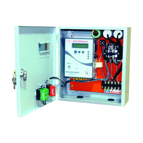 Pump Controller Panel For Single Phase Pumps, Pump Control System ...