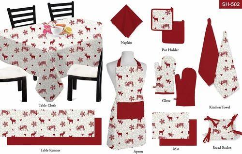 Multicolor Christmas Table Linen, Rs 666 /set, Smart Home ...