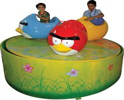 Amusement Ride Angry Bird Brake Dance