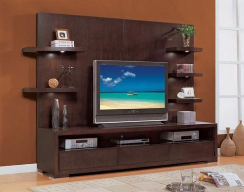 Lcd Tv Stand Designs Kerala : Wooden led unit view specifications details of