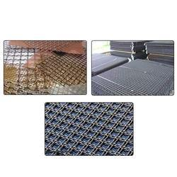 Crimped Wire Mesh, Thickness: Standardized