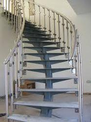 Gentil Stainless Steel Staircases Service