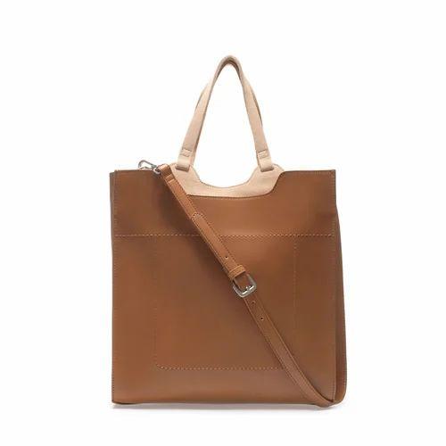 Aahil Black Brown And Tan Las Leather Handbags