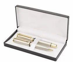 Metal & Wooden Pen Set
