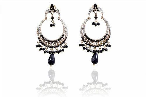 Earrings - Indian Victorian Earrings from New Delhi