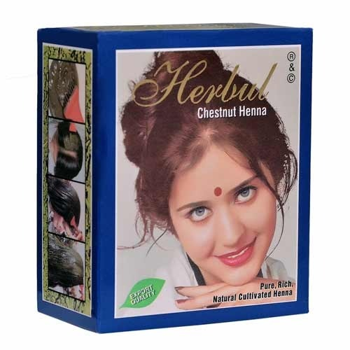 6c3b442bd Herbul Chestnut Henna at Rs 7920 /carton | मेहंदी वाला ...