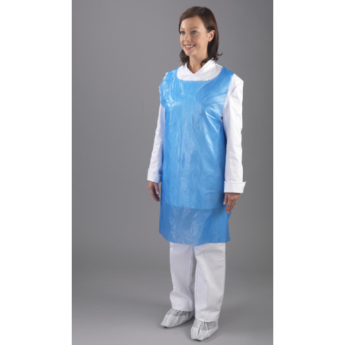 Unisex PE Plastic Apron, for Safety & Protection, Size: Large