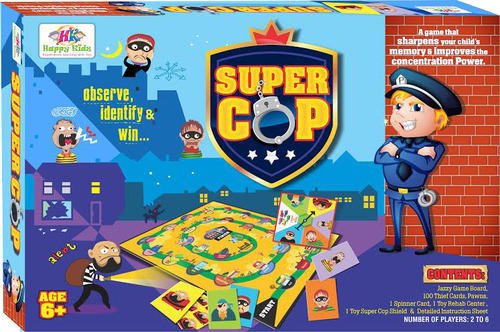 super cop board game fun game majedar board wale khel neo