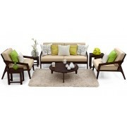 Arne Wooden Sofa Standard Set