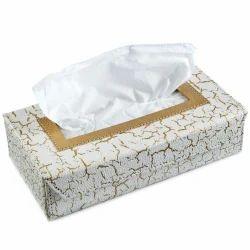 Ecoleatherette Premium Car Tissue Box, For Office