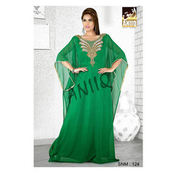 Green Farasha Dress 124