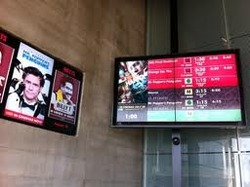 Digital Signage in Theater
