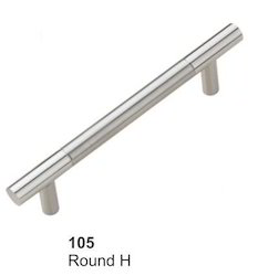 Straight Stainless Steel Handles
