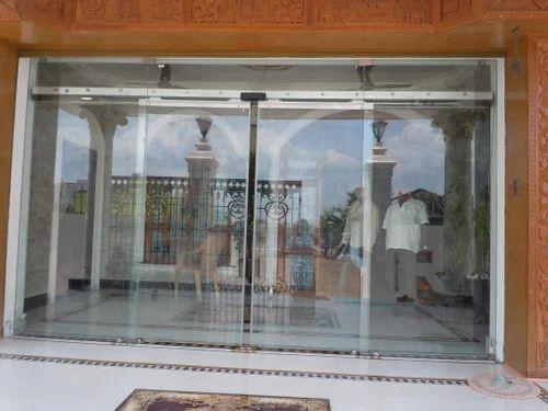 Glass Automatic Sliding Doors Indian Entrance Automation