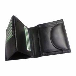Black Leather Gents Wallet