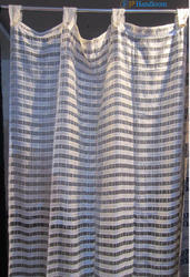 Transparent Pure Silk Curtain