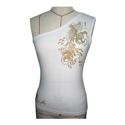 Ladies Sleeveless Fashion Top