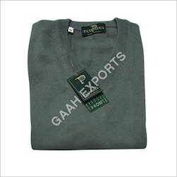Green Cotton Kashmiri Sweater
