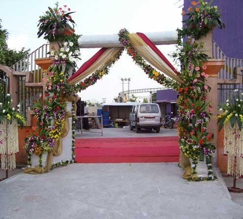 Wedding Flower Decoration And Residential Or House Decoration