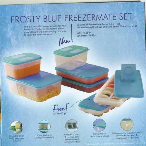 Frosty Blue Freezermate Tupperware at Rs 2200 Kitchen Utensils