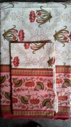 Small Flower Printed Double Bed Sheet