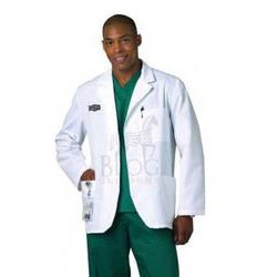 Mens Short Lab Coat