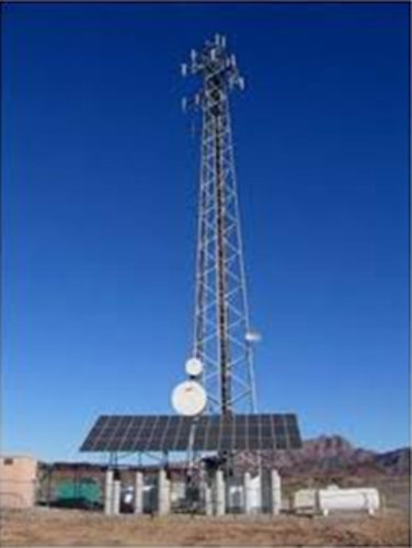 Solar-Powered Telecom Towers