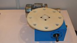 Rotary Indexing Table For Buffing Machine