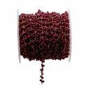 Ruby Cluster Gemstone Chain