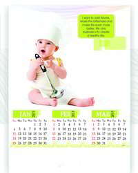 Baby Wall Calendar
