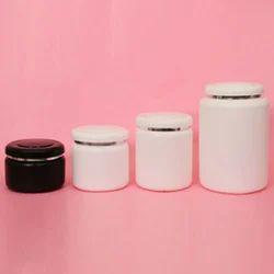 White Round HDPE Micra Jar