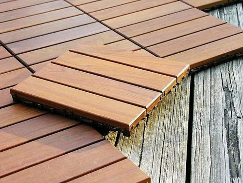 Ipe Decking Tiles