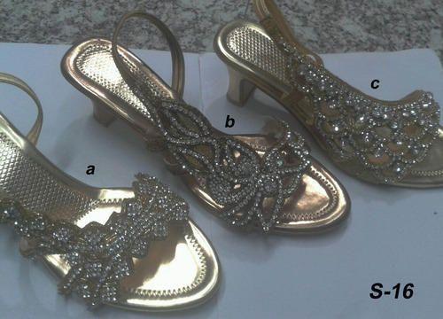 9fb7311306288 Golden Wedding Sandals